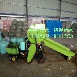 新型畜牧业打捆包膜机械  青贮饲料打包机