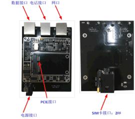 天通一号多功能数据传输开发板