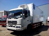东风天锦7.6米冷藏车价格, 前2后4 180马力冷藏车报价, 冷藏保鲜运输车