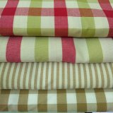 隆顺LS0004家纺条纹格子布沙发布窗帘布