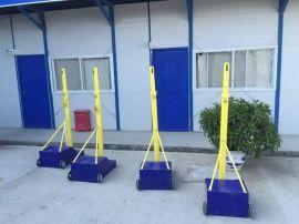 厂家直销 多功能移动式排球架 气排球可调升降沙滩排球柱羽毛球架