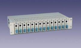 光纤收发器机架(JEKO-2U-14)