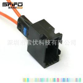 汽车MOST1394916音响塑料光纤连接器 母头