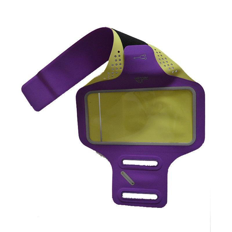 便携双扣跑步手机臂带 跑步健身手机防水防汗臂带手机臂套定制