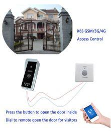 金鸽K6S别墅对讲开门器3G、4G手机对讲开门器GSM门铃