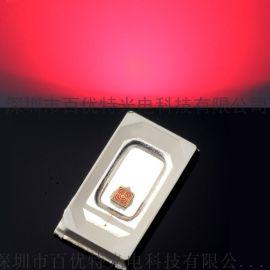 SMD5730红光贴片发射管 0.2w晶元12mail红色led灯珠