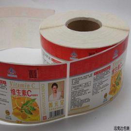 蔬菜不干胶标签/食品封口贴纸/水果标签贴