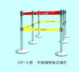 厂家直销机场地铁大型展厅宾馆酒店银行医院不锈钢伸缩式围栏可定制