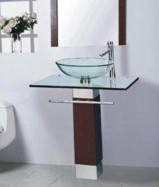 玻璃台盆(B-017)