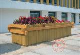 碳化木防腐木花箱实木花槽长方形特大户外种植箱