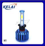 KELAI  LED H1/H3/H4/H7 12V24V6000K 6代前大燈 鋁合金材質
