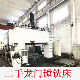 低价处理二手台湾定梁式数控龙门镗铣床4米重型线轨加工中心