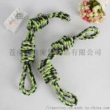 宠物玩具 双5圈棉绳玩具互动训练用品狗狗玩具