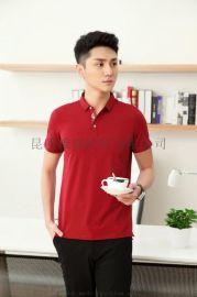 玉溪POLO衫定做江川广告衫短袖T恤衫定做厂家