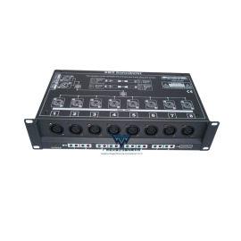 8路信号放大器舞台灯光控台DMX512信号分配器