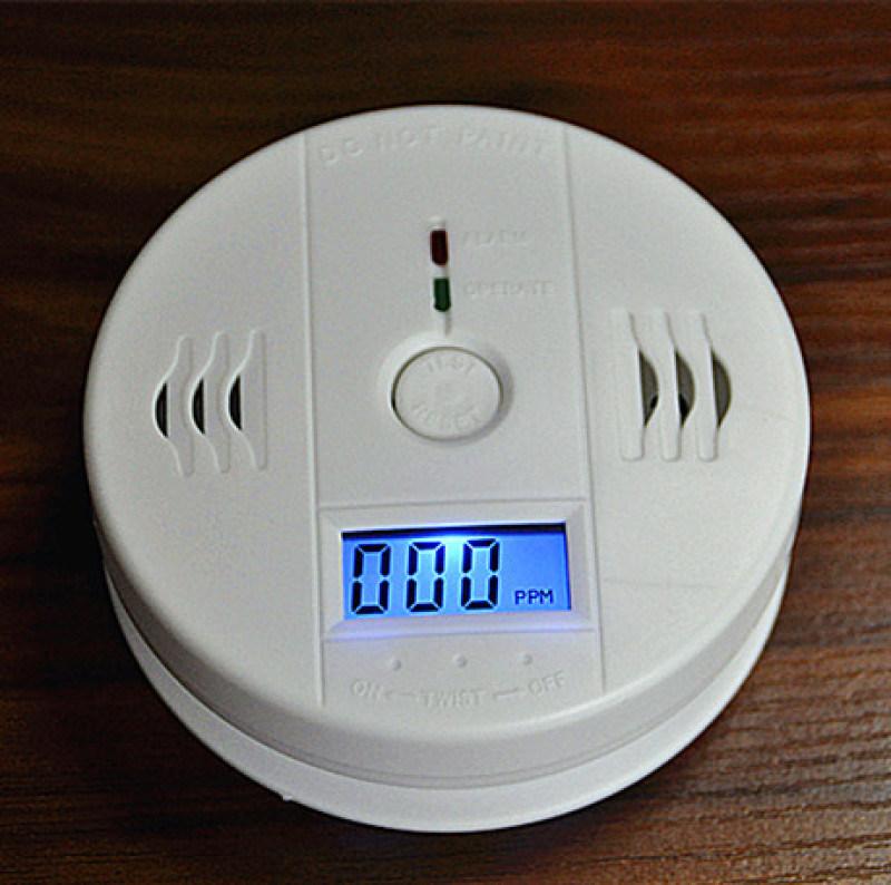 一氧化碳报警器蜂窝煤报警器煤炉煤气检测报警器