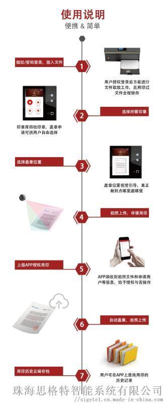 企业印章管理-思格特智能公章机智能锁印章管理系统