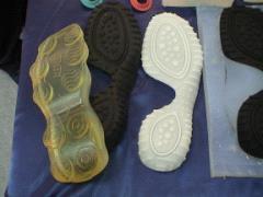 硅橡胶腹膜—鞋底打样
