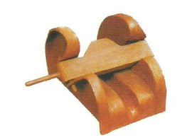 CB*286-1984铸钢闸刀掣链器
