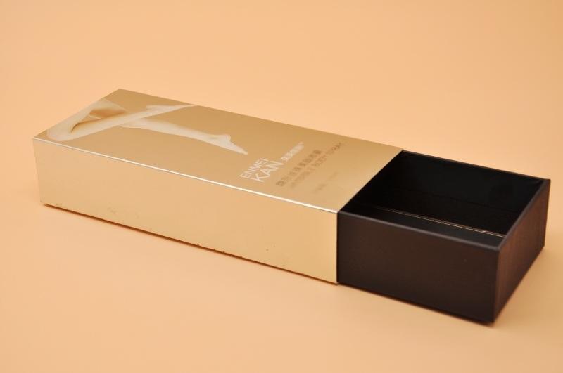 抽屉包装盒 **定制礼品折叠盒 套盒丝袜盒