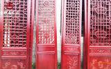 成都实木雕塑门窗厂家,茶楼实木雕花门窗定制