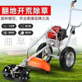 熱銷手推式多功能割草機兩輪推車式鋤草機