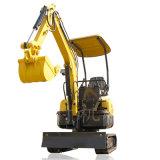 无尾17型果园农用小型挖掘机 市政工程履带式挖掘机