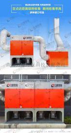 力维环保中央式焊烟净化器集成主机车间整体通风