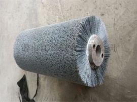 环保透水砖打磨磨料辊刷 透水砖研磨刷辊-江南刷业