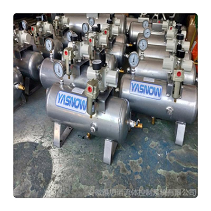 压缩空气增压泵 空气增压器 SMC增压泵增压阀