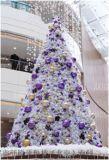 供應led發光聖誕樹 定製鐵藝框架人造大型聖誕樹