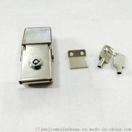 骏杰金祥彩票app下载J605广告锁灯箱锁边箱锁搭扣锁具