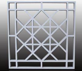 鋁窗花廠家直銷屏風裝飾木紋鋁窗花規格定制