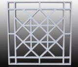 鋁窗花廠家直銷屏風裝飾木紋鋁窗花規格定製