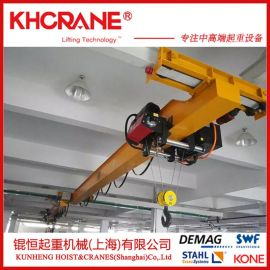 厂家订做电动单梁悬挂起重机-欧式单梁