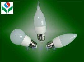 LED陶瓷球泡灯(SS-BL-3W-09)