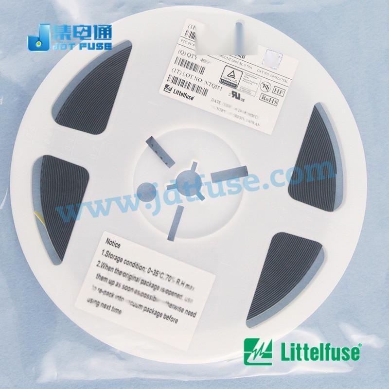 低电阻保险丝0805L110SLYR Littelfuse0805可恢复保险丝1.1A/6V