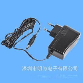 厂家生产DC12V 1A开关电源12W电源适配器