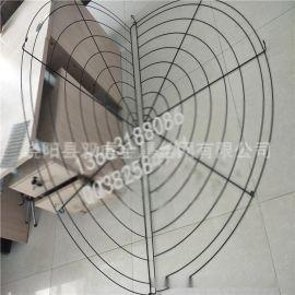 外贸标准拼接式圆形网罩 钢丝网罩 保护装置防护罩