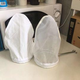 奶茶过滤袋 港式钢圈拉茶袋 奶茶过滤网 丝袜奶茶棉布滤袋