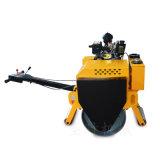大单轮小型压实机 柴油手扶压路机 双轮驱动压路机