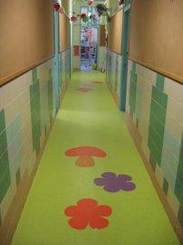 三台盐亭幼儿园PVC塑胶地板卡通防滑地板