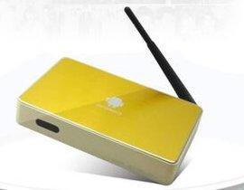 金属高清电视机顶盒四核安卓无线网络电视机顶盒子播放器八核