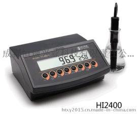 HI2400实验室台式溶氧/饱和溶氧/温度测定仪,意大利哈纳,溶解氧测定仪