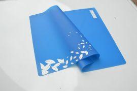 舒适的天蓝色餐垫 环保 隔热  硅胶餐垫