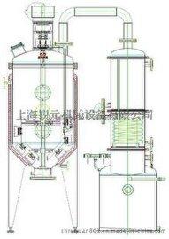 供应RY-GBNS系列刮板真空减压浓缩罐