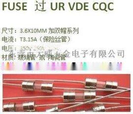 电流保险丝T3.15A250v熔断器