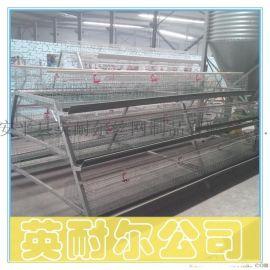 1.88米镀锌育雏鸡笼 三层两门雏鸡笼 英耐尔小鸡笼