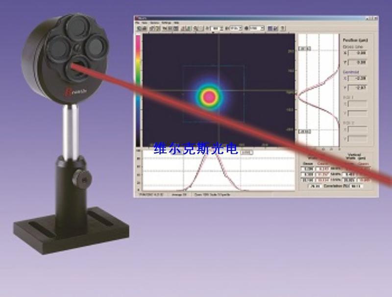 微米级激光光斑分析仪 微米光斑能量测量