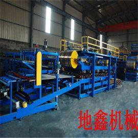生产销售泡沫复合板机 复合板成型设备 夹芯板夹芯瓦机械 可定制